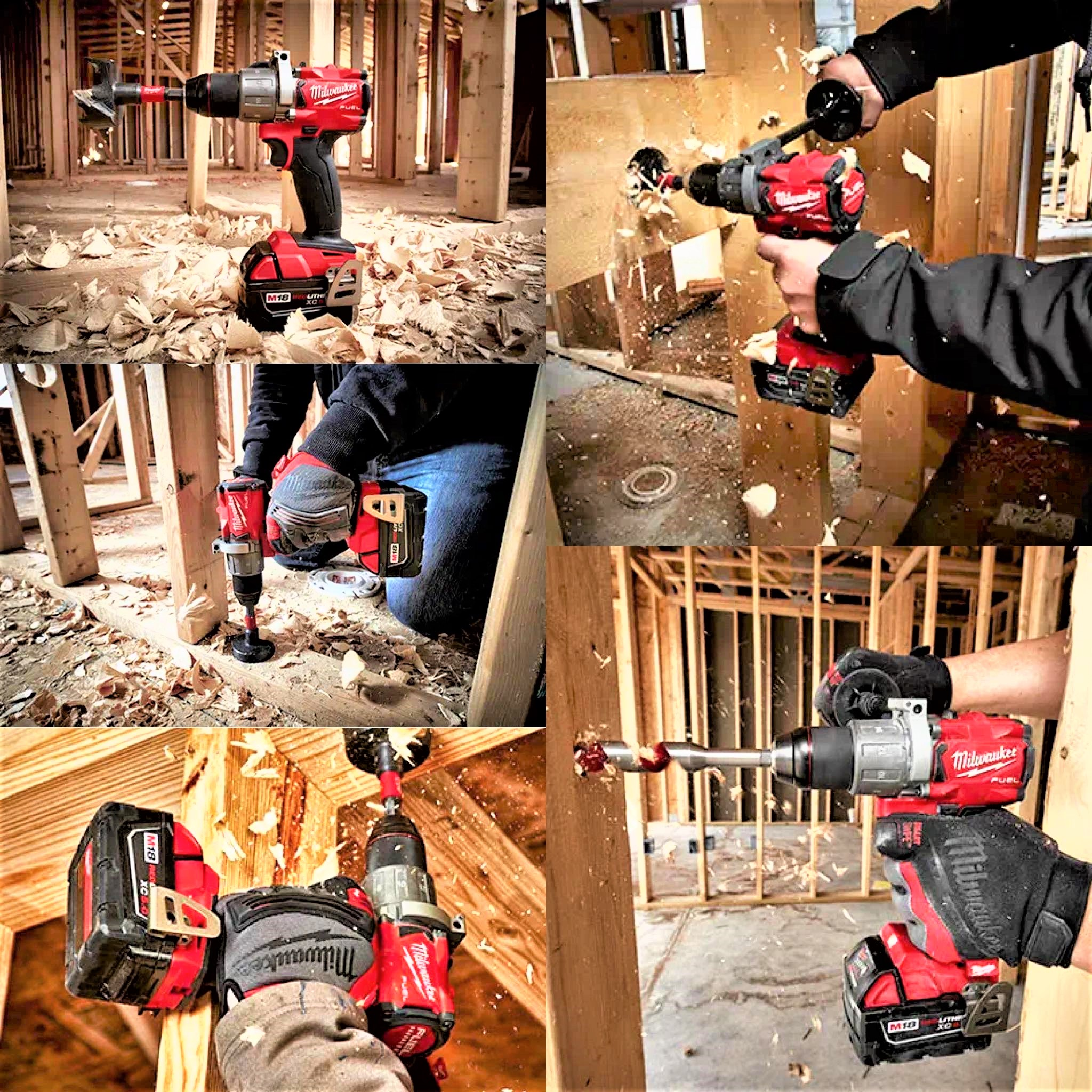 Milwaukee  Cordless Drill 1/2 Hammer M18 Fuel C/W 2 Battery & Case Review